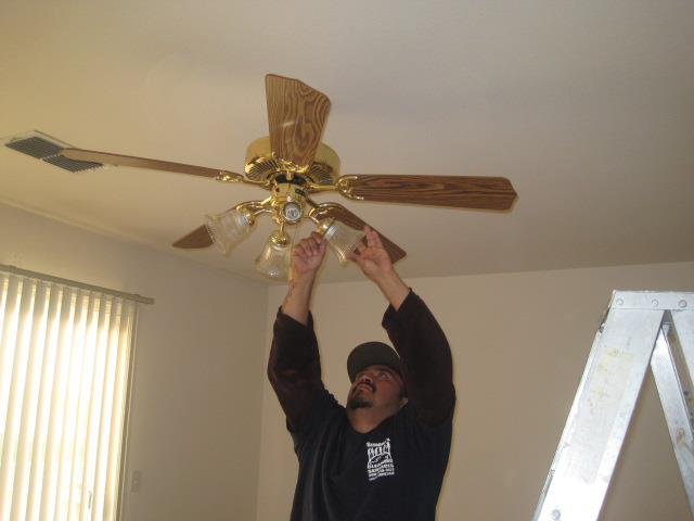 Ceiling fans deep cleaning stockton cleaning service